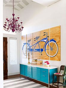 Cool decorating ideas for large living room wall 29