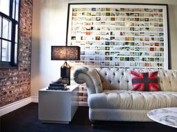 Cool decorating ideas for large living room wall 65