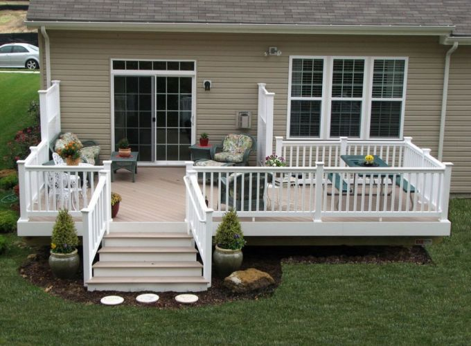 Creative front porch garden design ideas 31