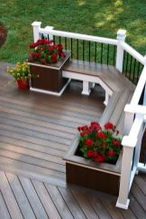 Creative front porch garden design ideas 50