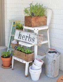 Creative front porch garden design ideas 51