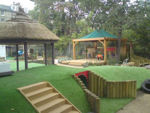 Creative garden design ideas for slopes 01