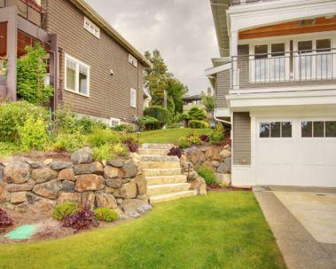 Creative garden design ideas for slopes 03