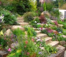 Creative garden design ideas for slopes 08