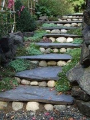 Creative garden design ideas for slopes 12