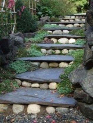 Creative garden design ideas for slopes 12