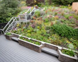 Creative garden design ideas for slopes 13