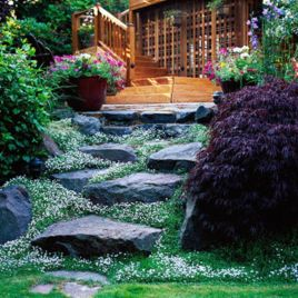 Creative garden design ideas for slopes 14