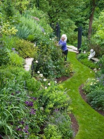 Creative garden design ideas for slopes 15