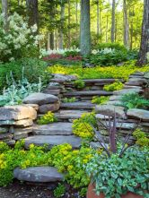 Creative garden design ideas for slopes 19