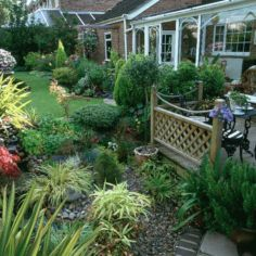 Creative garden design ideas for slopes 27