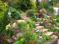Creative garden design ideas for slopes 39