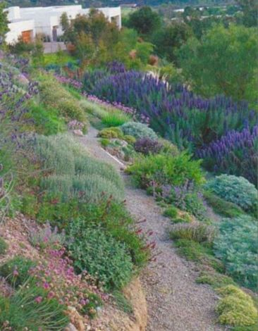 Creative garden design ideas for slopes 42