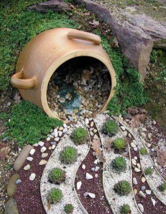 Creative garden design ideas for slopes 43