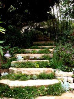 Creative garden design ideas for slopes 46