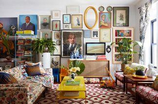 Creative ideas hiding a tv in the living room 10