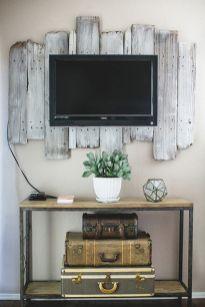 Creative ideas hiding a tv in the living room 39