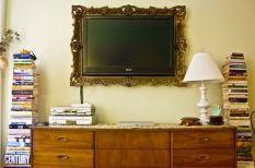 Creative ideas hiding a tv in the living room 53