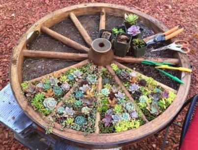 35 Cute and Simple School Garden Design Ideas - Round Decor