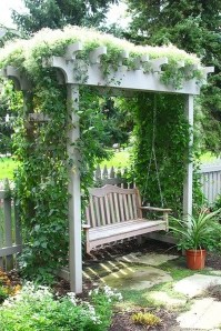 Cute and simple tiny patio garden ideas 50