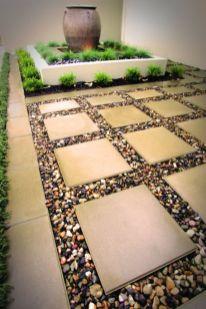 Cute and simple tiny patio garden ideas 55