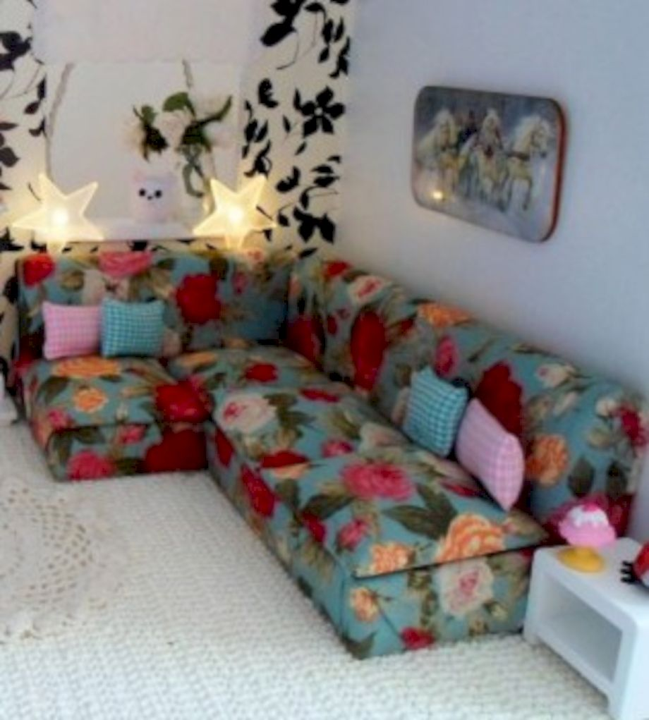 Diy barbie doll furniture 30