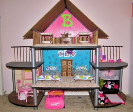 Diy barbie doll furniture 31