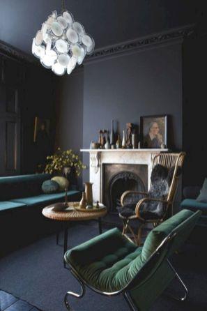 Dark green living room furniture 12