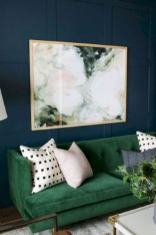 Dark green living room furniture 15