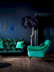 Dark green living room furniture 28