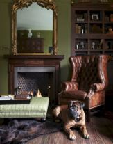 Dark green living room furniture 32