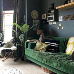Dark green living room furniture 41