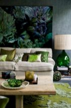 Dark green living room furniture 42