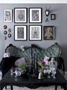 Dark green living room furniture 43