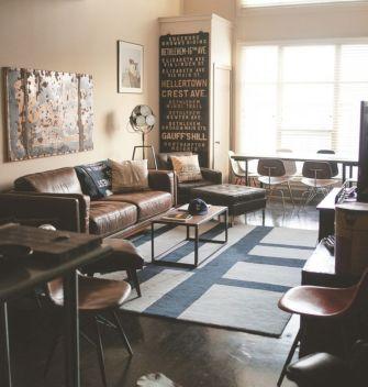 Design for men's apartment 11