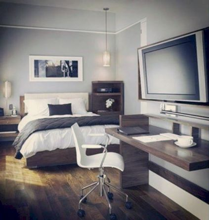 Design for men's apartment 49