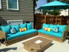 Diy outdoor patio furniture 36
