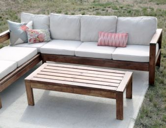 Diy outdoor patio furniture 50