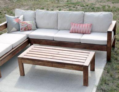 Diy outdoor patio furniture 50