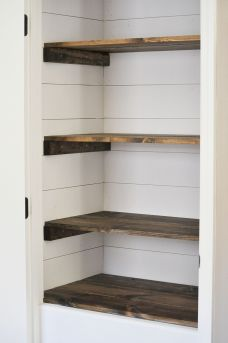 wood closet shelving. Easy And Affordable Diy Wood Closet Shelves Ideas 09 Shelving