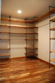 Easy and affordable diy wood closet shelves ideas 33