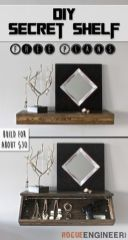 Easy and affordable diy wood closet shelves ideas 45