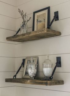 Easy and affordable diy wood closet shelves ideas 48