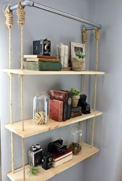 Easy and affordable diy wood closet shelves ideas 59