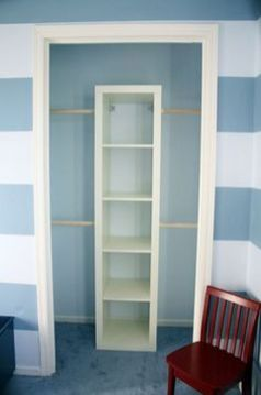 Easy and affordable diy wood closet shelves ideas 64