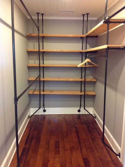 Easy and affordable diy wood closet shelves ideas 72