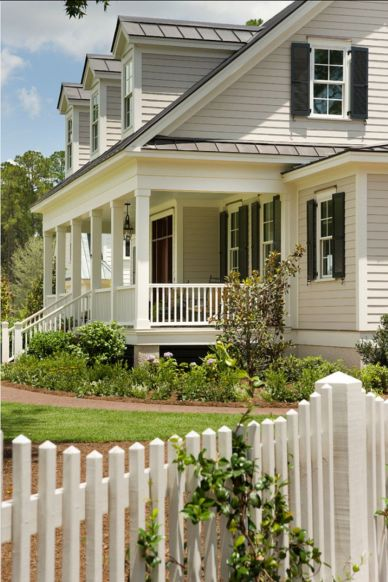 Exterior house colors with brown roof 04