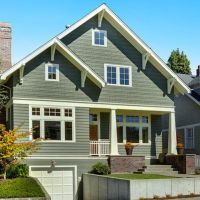 40 Exterior House Colors With Brown Roof