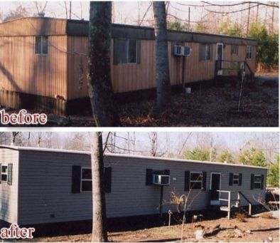 Exterior paint color ideas for mobile homes 19