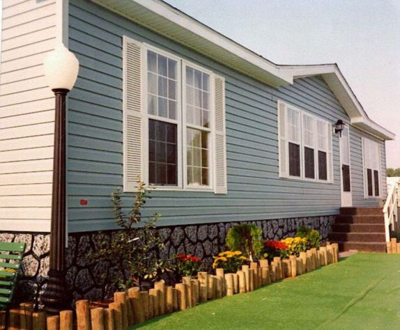 Exterior paint color ideas for mobile homes 30